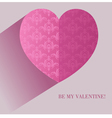 hearts texture4 vector image vector image