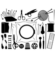 gobelin equipment vector image vector image
