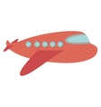travel airplane windows and wing vector image