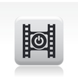 video switch icon vector image vector image