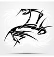 Mantes tribal vector image vector image