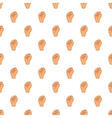 Clenched fist pattern cartoon style vector image