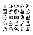 Hotel and Restaurant Icons 8 vector image
