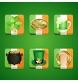 Icons St Patricks Day vector image