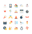 Party and Celebration Icons 5 vector image