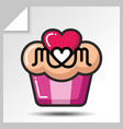 mothers day icons 8 vector image