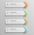 paper infographic51 vector image