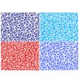 seamless set vector image