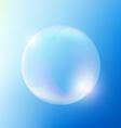 Soap bubble Stock vector image