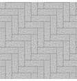 Seamless pavement pattern Background texture vector image vector image