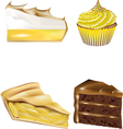 patisserie collection vector image
