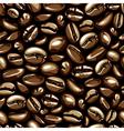 coffee seamless vector image