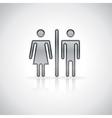 Man and woman symbol vector image