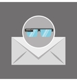 smart glasses news receiver graphic vector image