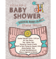 Baby-Shower WoolSoftColors vector image