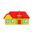 Real estate icon cartoon style vector image
