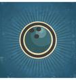 Retro Bowling Ball vector image vector image