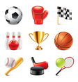 set sport vector image vector image