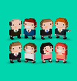 3d people vector image