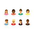 women icons vector image