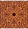 Arabian seamless tile pattern vector image