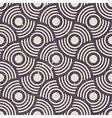 Retro geometric seamless background vintage repeat vector image