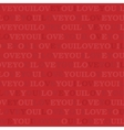 I love you - wrapping paper vector image