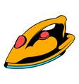 iron icon icon cartoon vector image vector image