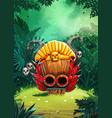 Jungle shamans backgroung vector image