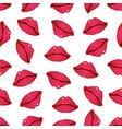 lips pattern 2 vector image