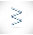 Stairs White vector image