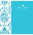 Abstract Flower Damask Square Torn Seamless vector image vector image