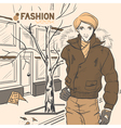 fashion style5 vector image
