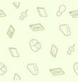 web design color outline isometric pattern vector image