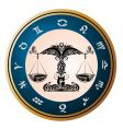 zodiac signs of libra vector image