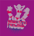 Electro House music vector image