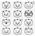 kittens emotions vector image