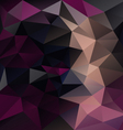 dark purple black abstract polygon triangular vector image