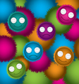 Bubble abstract cartoon vector image vector image