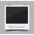 old style photo frame vector image