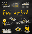 Back to School 6 vector image
