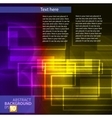 color abstract vector image vector image
