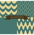 simple retro wavy seamless patterns vector image vector image