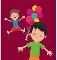 happy child image vector image