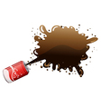 A can of cola vector image vector image