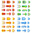 arrow collection vector image