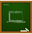 laptop icon Eps10 vector image