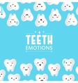 tooths on a background vector image