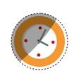 Wall watch clock vector image