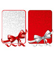 decorative cards vector image vector image
